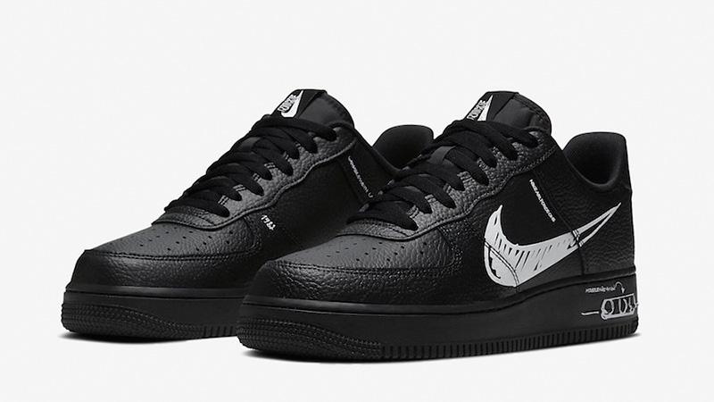"Nike Air Force 1 Low Sketch ""Black"" – Modish Mall"